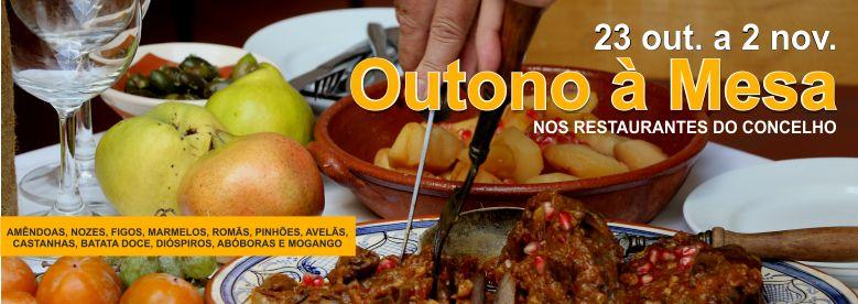 Visite os nossos restaurantes e surpreenda-se com os sabores do Outono